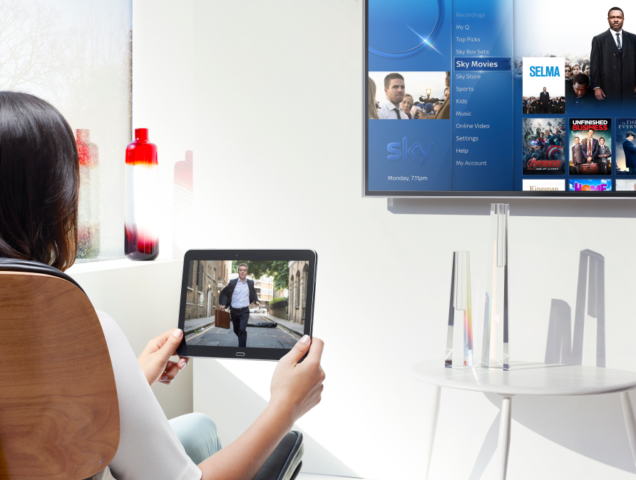 Sky selects Qt for Sky Q